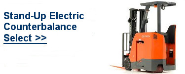 Select Electric Stand-Up Forklift
